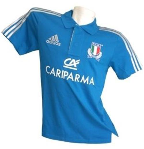 Polohemd Italien Rugby 2013