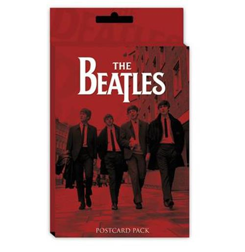 Postkarte Beatles - Red