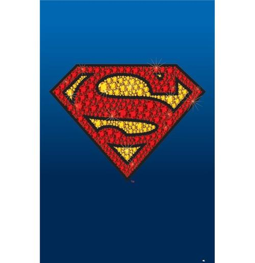 Poster Superman  Diamonds
