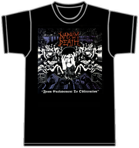 T-Shirt Napalm Death