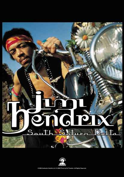 Flagge Jimi Hendrix - South Saturn Delta