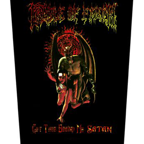 Aufnäher Cradle of Filth  Get Thee Behind Me Satan