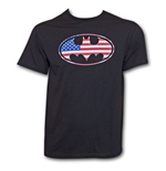 T-Shirt Batman American Flag