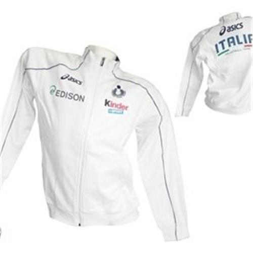 Sweatshirt Italien Volley 2012/13 in weiss