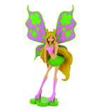 Aktion Mini Figur Winx Club Flora - 13cm
