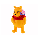 Aktion Figur Winnie Puuh - Winnie Puuh mit Schmetterling- 6cm