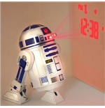 Star Wars Projecting Wecker mit  Soundeffekten  R2-D2