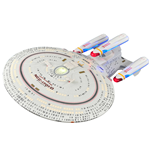 Star Trek TNG Modell All Good Things Enterprise NCC-1701-D 40 cm