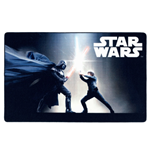 Star Wars Teppich Black Fight 100x160cm