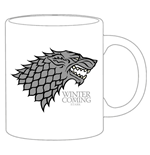 Game of Thrones Tasse Stark weiß