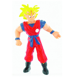 Dragonball Z Mini Figur - Yellow Goku - 10 cm