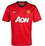 T-Shirt Manchester United FC Home 2012-13 für Kinder