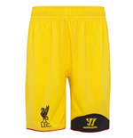 Shorts Torwart Liverpool FC Away 2012-13 für Kinder