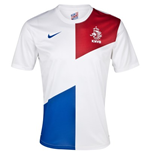 T-Shirt Holland Fussball Away Nike 2013-14 für Kinder