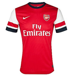 T-Shirt Arsenal Home 2012-13 für Kinder