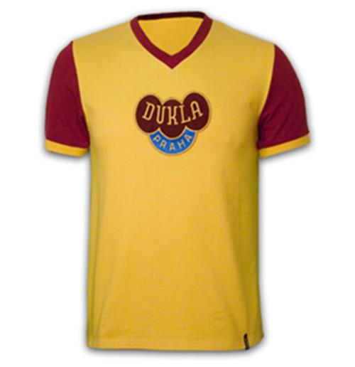 Trikot Dukla Prague Away 1960´s Retro
